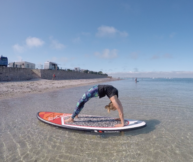 SUP Yoga is hot deze zomer!